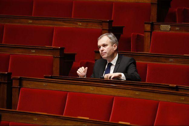 François de Rugy, co-président du groupe écologiste, à l'Assemblée nationale, en novembre 2014.