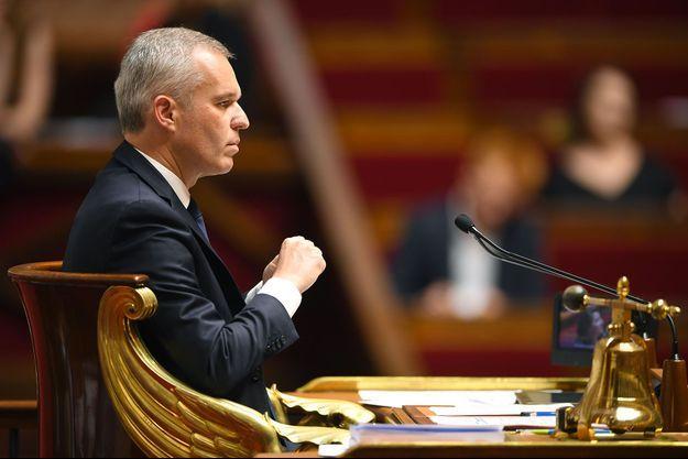 François de Rugy à l'Assemblée nationale, le 3 juillet.