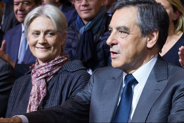 Penelope et François Fillon le 25 novembre dernier.
