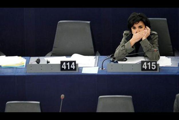Rachida Dati au Parlement européen, le 13 décembre dernier.
