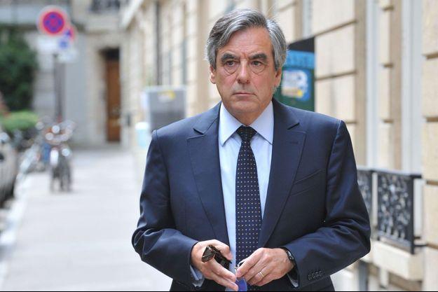 François Fillon, ici à Paris fin juin.
