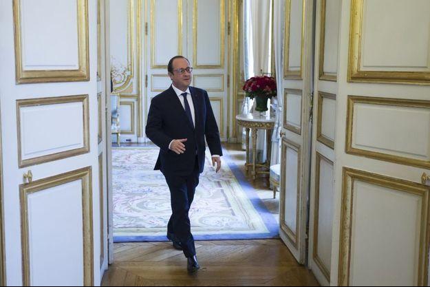 François Hollande à l'Elysée le 11 décembre.