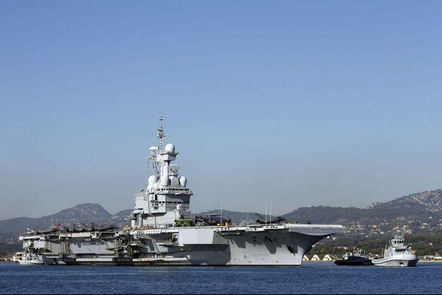 Le porte-avions Charles-de-Gaulle (photo d'illustration)