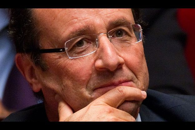 François Hollande, mardi à l'Assemblée nationale.