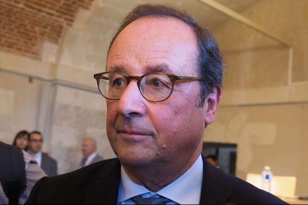 François Hollande le 14 octobre 2018.