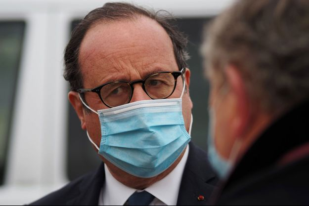 François Hollande, ici lors d'un déplacement mi-janvier.