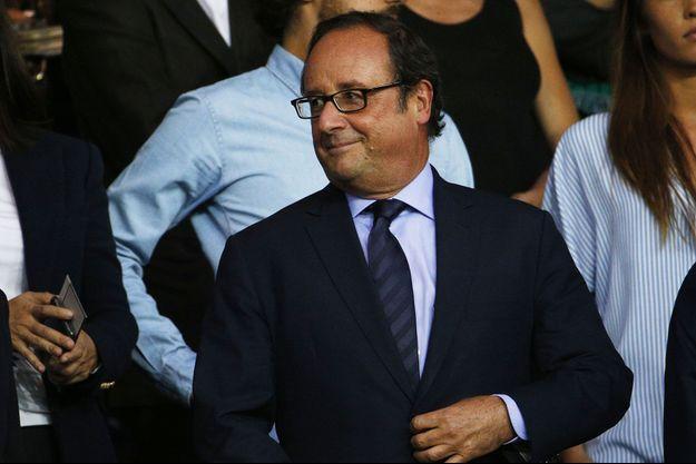 François Hollande le 25 août dernier au Parc des princes.
