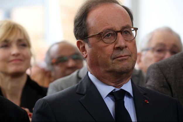 François Hollande, en Corrèze le 26 septembre dernier.
