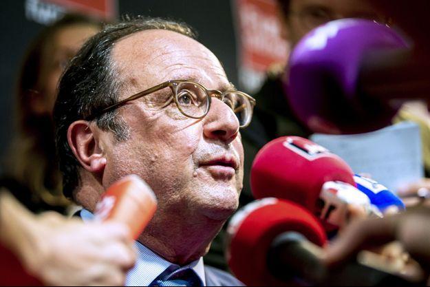 François Hollande, le 18 juin à Lille.