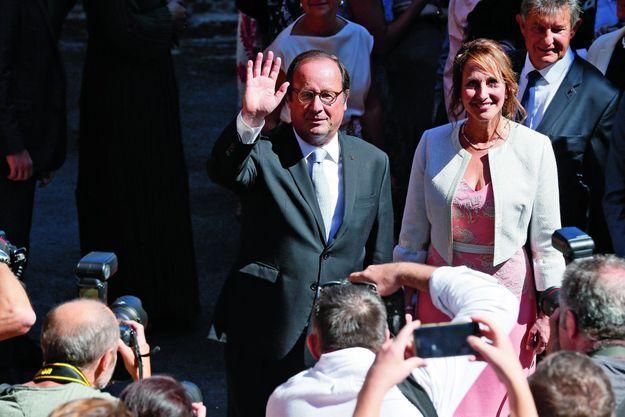 Au mariage de leur fils Thomas, le 8 septembre dernier.