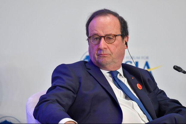 François Hollande à Bo'ao en Chine, fin mars.
