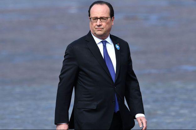 François Hollande le 8 mai 2017.