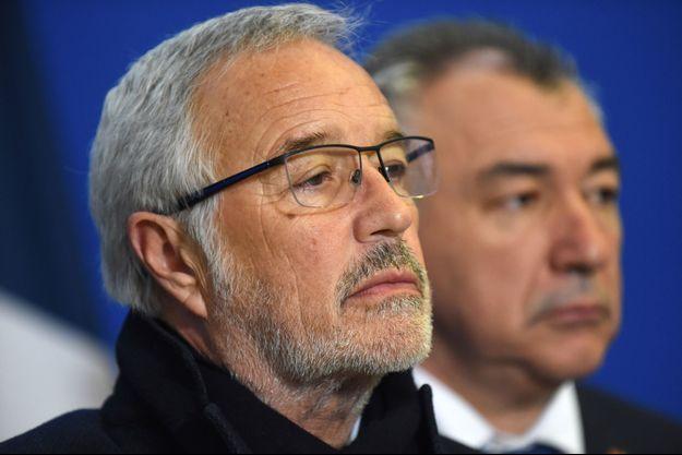 Le maire PS de Dijon François Rebsamen, ici à Paris en février 2019.