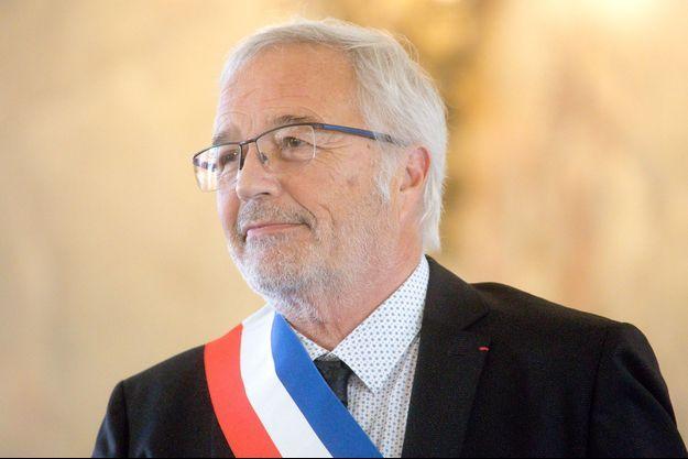 François Rebsamen, début juillet lors de son discours d'investiture de Dijon.