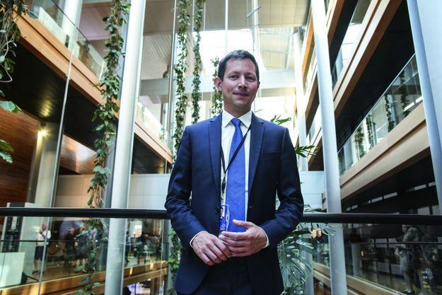 Le patron des députés européens Les Républicains à Strasbourg.