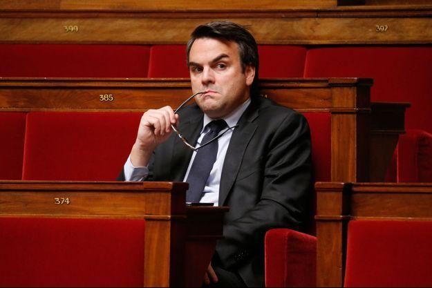 L'ancien secrétaire d'État au Commerce extérieur Thomas Thévenoud, ici à l'Assemblée en novembre 2014.