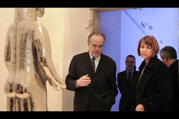 Frédéric Mitterrand remplacera au poste de ministre de la Culture Christine Albanel