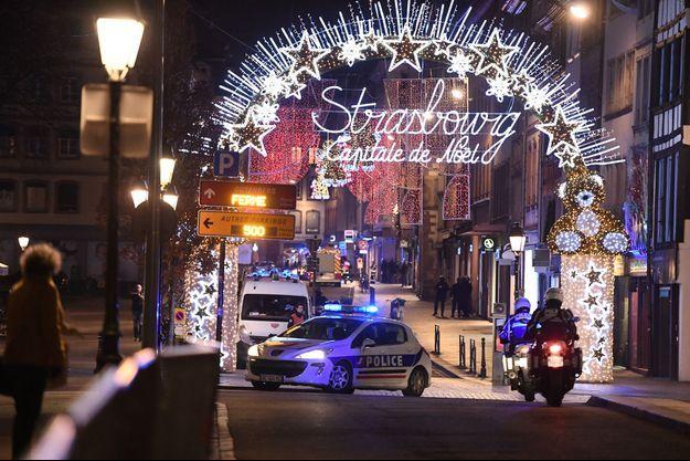 Le Marché de Noël à Strasbourg.