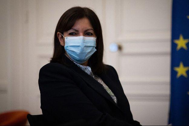 Anne Hidalgo, ici fin janvier à Paris.