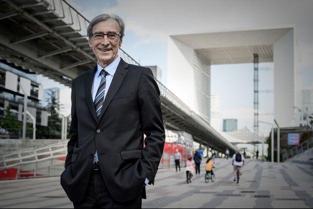 Georges Siffredi, ce lundi à La Défense.
