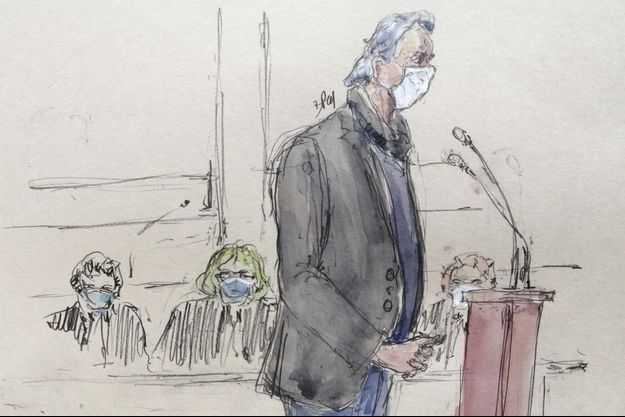 Georges Tron devant le tribunal, le 17 février.