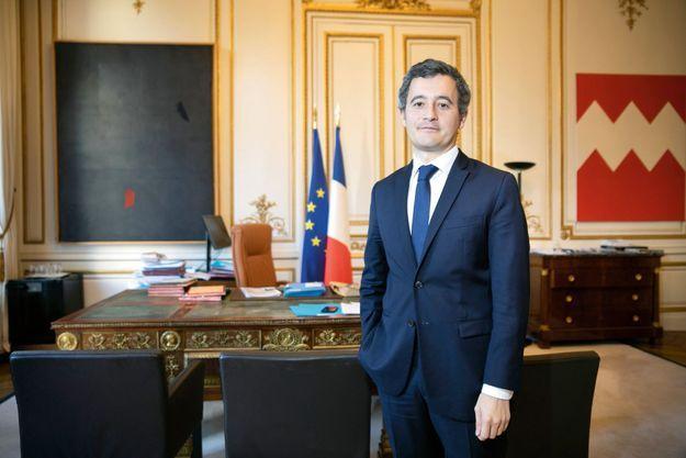 Dans son bureau place Beauvau, lundi 30 novembre.