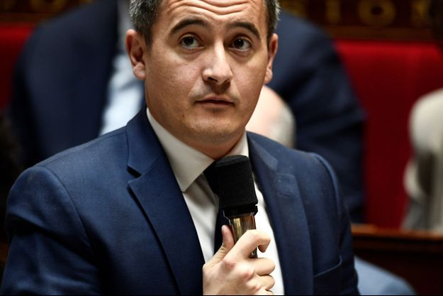 Gérald Darmanin à l'Assemblée nationale.