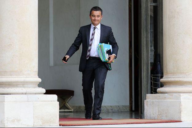 Gérald Darmanin à l'Elysée le 6 septembre.