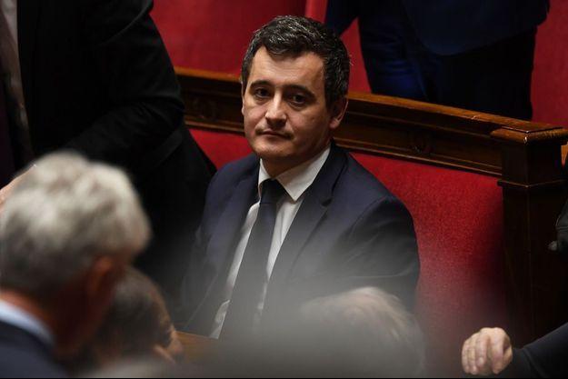 Gérald Darmanin à l'Assemblée nationale le 30 janvier 2018.