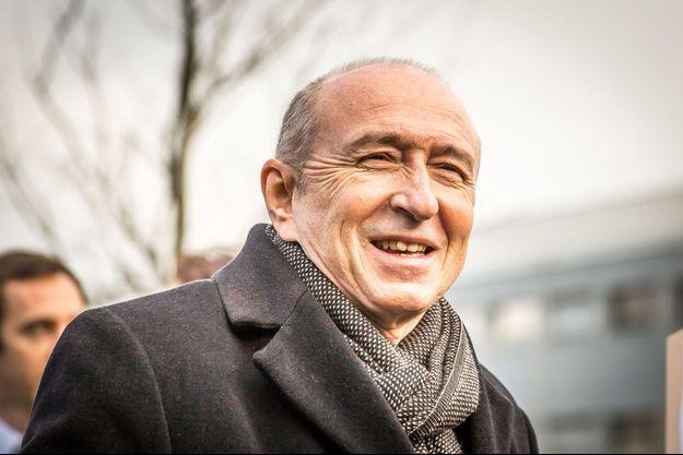 Gérard Collomb à Lyon, le 5 février dernier.