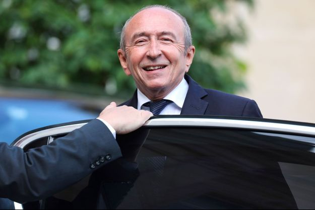 Gérard Collomb à l'Elysée mercredi.