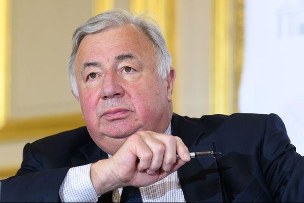 Gérard Larcher est candidat à sa réélection.