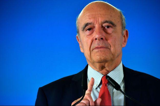 Alain Juppé , ici en mai 2018.
