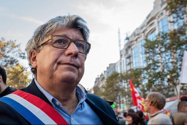 Le député France insoumise Eric Coquerel, ici lors d'une manifestation à Paris en octobre 2018.