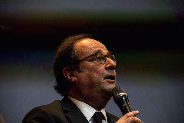 François Hollande à Rennes le 1er novembre dernier.
