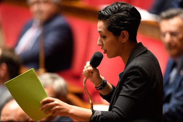 Sarah El Haïry, ici en mai 2018 à l'Assemblée.