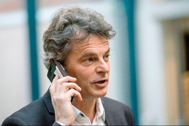 Fabien Roussel en février 2015.
