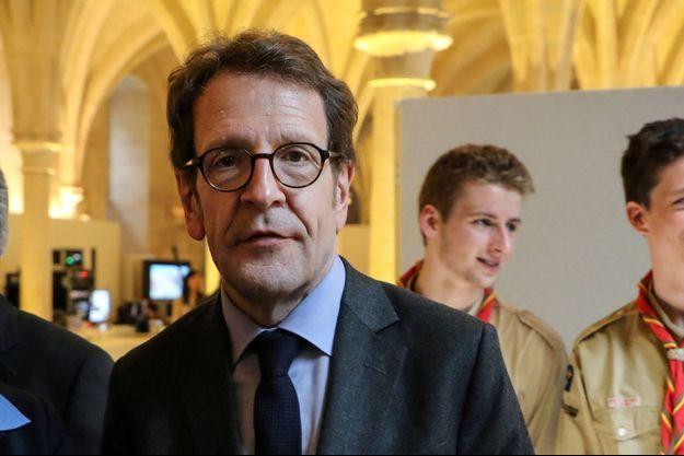 Gilles Le Gendre, ici au Collège des Bernardins à Paris en avril 2018.