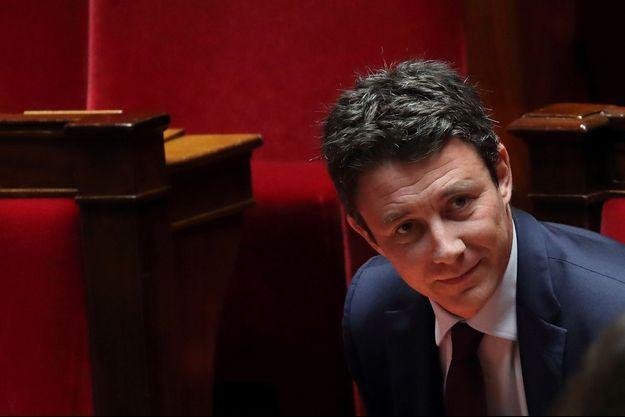 Benjamin Griveaux à l'Assemblée nationale en février.