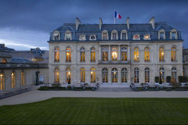 Photo du palais présidentiel prise en mars 2019.
