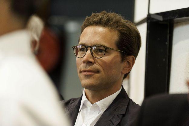 Geoffroy Didier à La Baule en septembre dernier pour l'université d'été des Républicains.