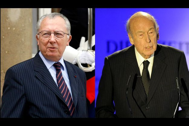 Jacques Delors et… Valéry Giscard d'Estaing inquiets pour l'Europe.