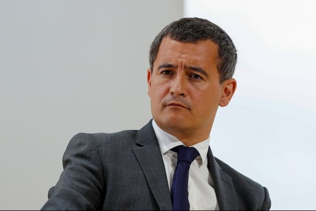 Gérald Darmanin à l'université d'été du Medef, le 29 août.