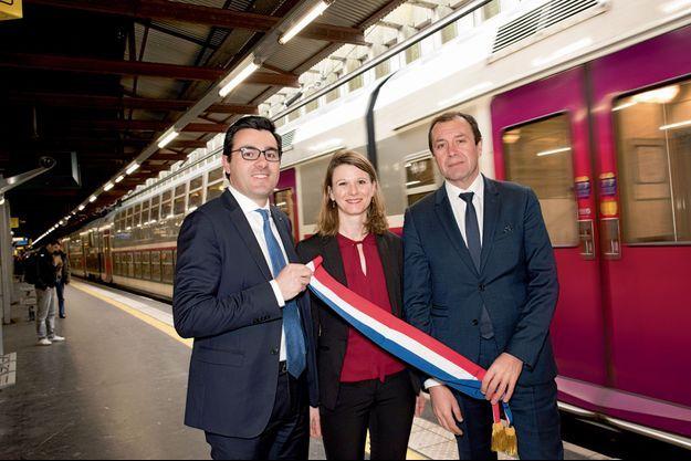 Benoit Simian, Laurianne Rossi et François Jolivet