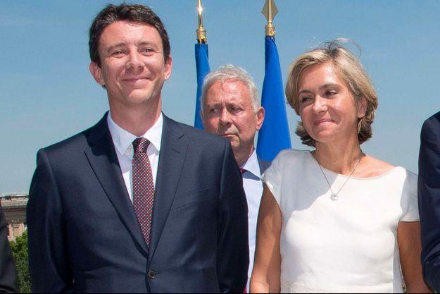 Benjamin Griveaux et Valérie Pécresse en juillet 2017.