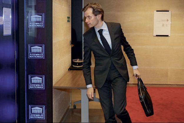 Guillaume Larrivé à l'Assemblée nationale en juillet dernier.