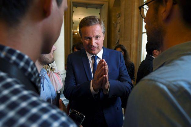Nicolas Dupont-Aignan à l'Assemblée nationale le 27 juin dernier.