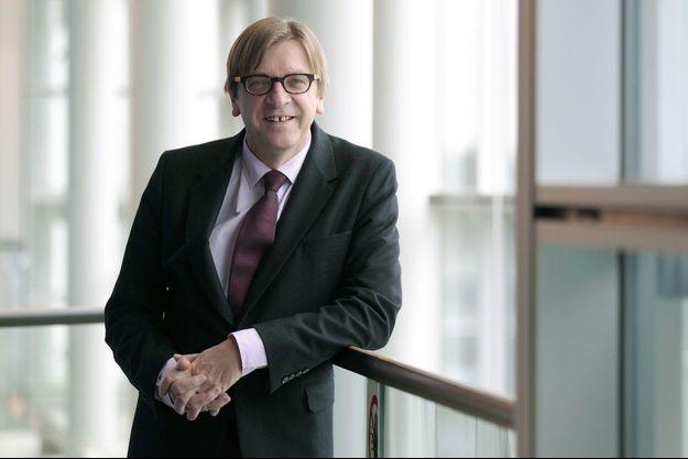 Guy Verhofstadt, candidat à la présidence de la Commission européenne.