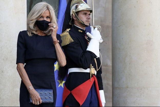 Brigitte Macron, le 6 septembre à l'Elysée.
