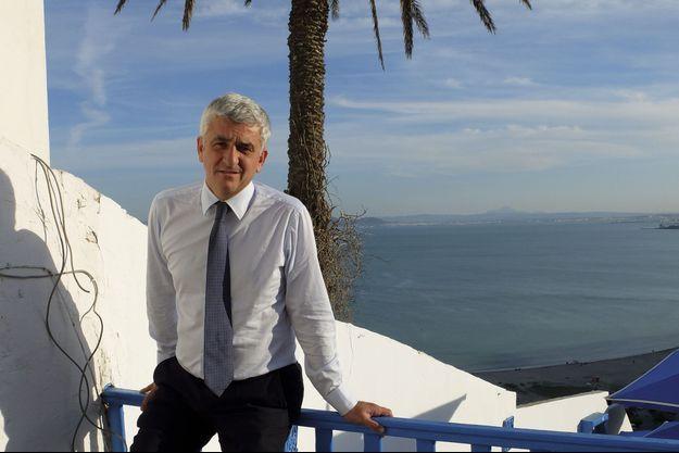 Hervé Morin à Sidi Bou Saïd, en Tunisie, le 24 avril.